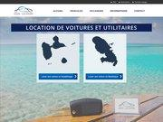 Logo Alizes location voiture Guadeloupe
