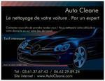Logo auto cleane lavage auto