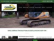 Logo Carrias Travaux Publics Venansault