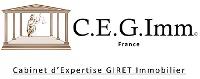 Logo cegimm expert immobilier
