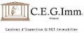 Logo cegimm expertise immobiliere