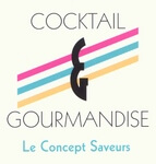 Logo cocktail et gourmandise
