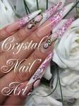 Logo crystal nail s art