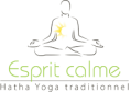 Logo esprit calme yoga lyon