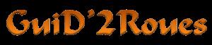 Logo guid2roues maroc