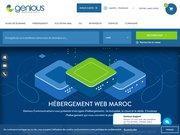 Logo Hébergement web Maroc Genious