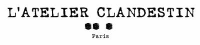 Logo l atelier clandestin