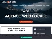 Logo leman web digital