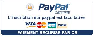 Logo paypal et cb
