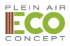Logo plein air eco concept
