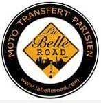 Logo taxi moto la belle road puteaux