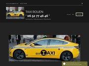 Logo taxi rouen