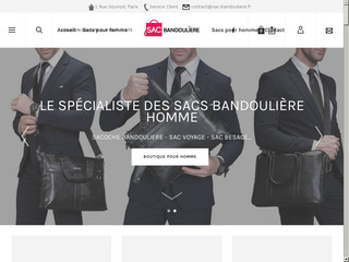 Sac bandouliere homme